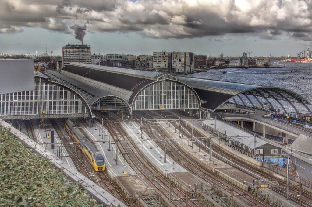 Amsterdam Centraal sporen